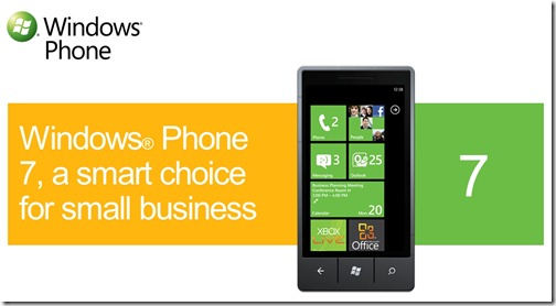 Windows Phone 7 For Small Business